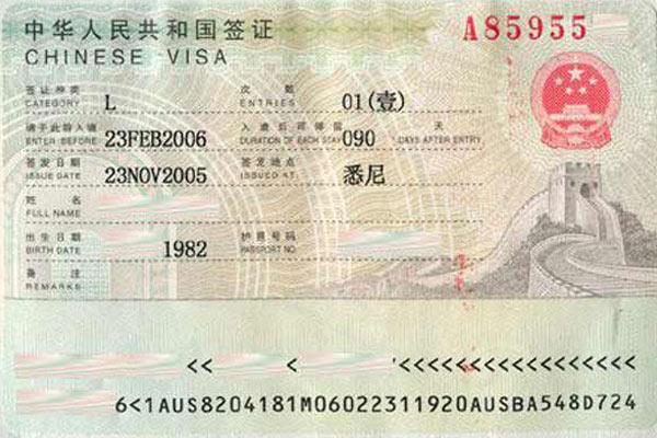 China Visa For Tibet Travel