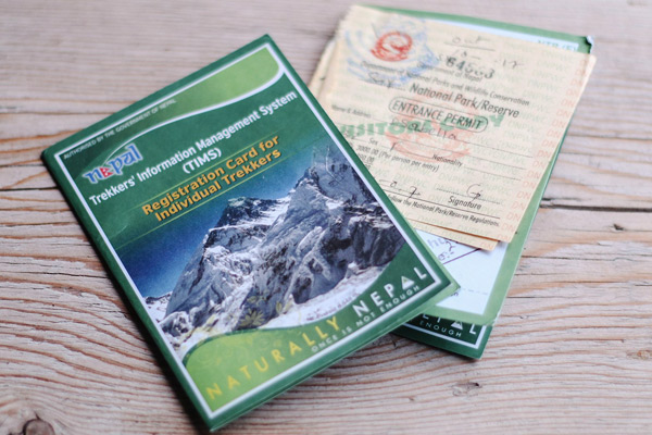 TIMS card for individual trekkers in Nepal