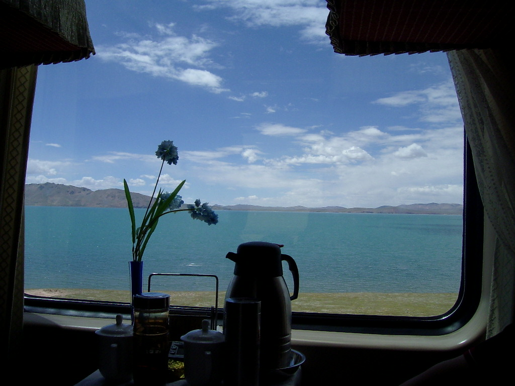 Restaurant Car on Tibet train