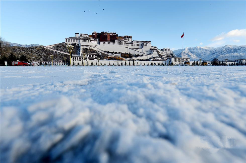The First Snow in Lhasa