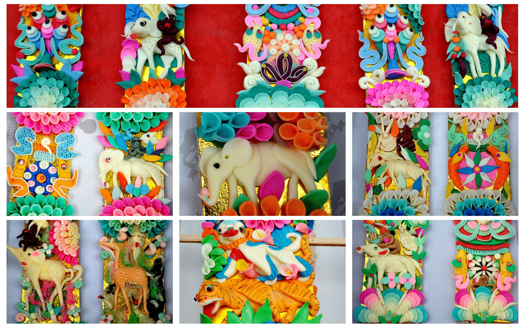 Butter Sculpture Festival Celebrated in Jampaling Monastery, Chamdo