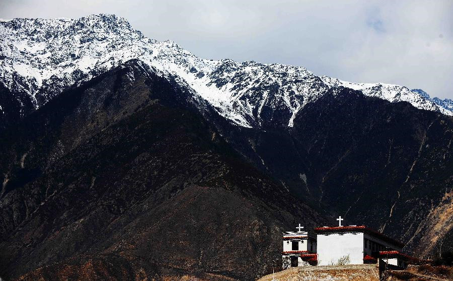 The Only Catholic Church in use in SW China's Tibet
