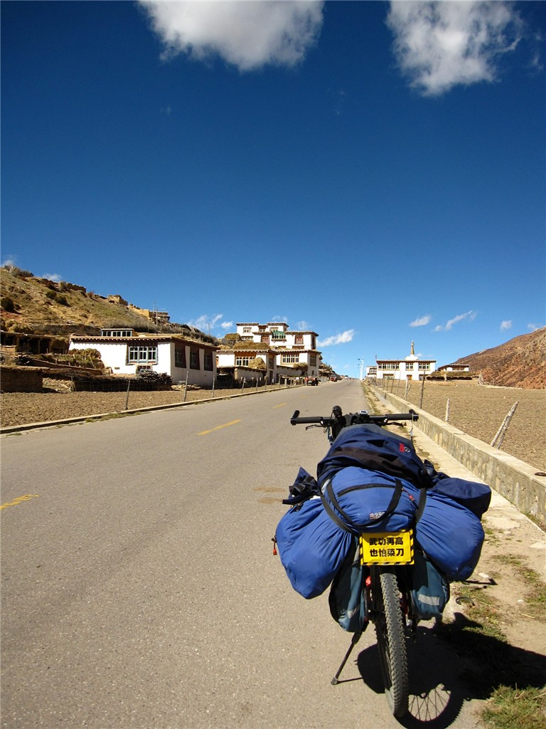 Young Man from Northern China Cycles to Tibet