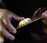 Butter Sculpture Handicraft's Inheritance in Tibet