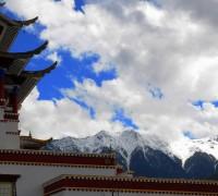 Nyang Pavillion in Nyingchi,SE Tibet