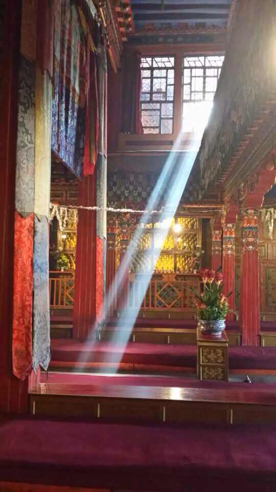 Good morning from a monastery in Lhasa!