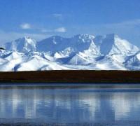 Northern Namsto Lake, virgin tourist land