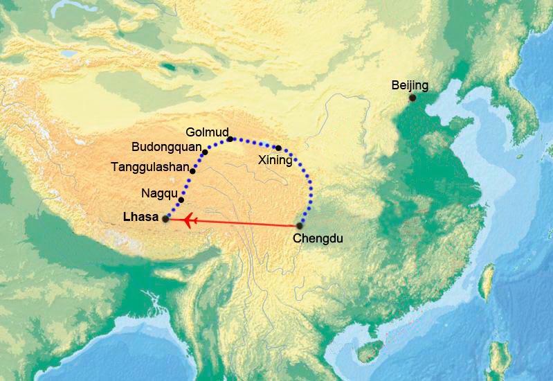Chengdu To Lhasa By Train Chengdu To Tibet